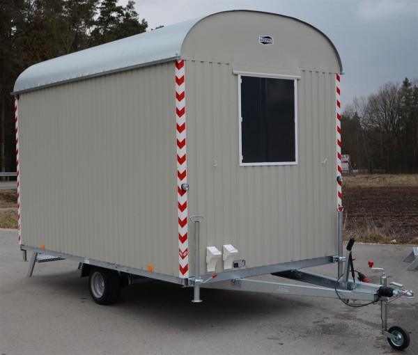 Bauwagen Baustellenwagen 80km/h mit Einrichtung 350cm/220cm/230cm