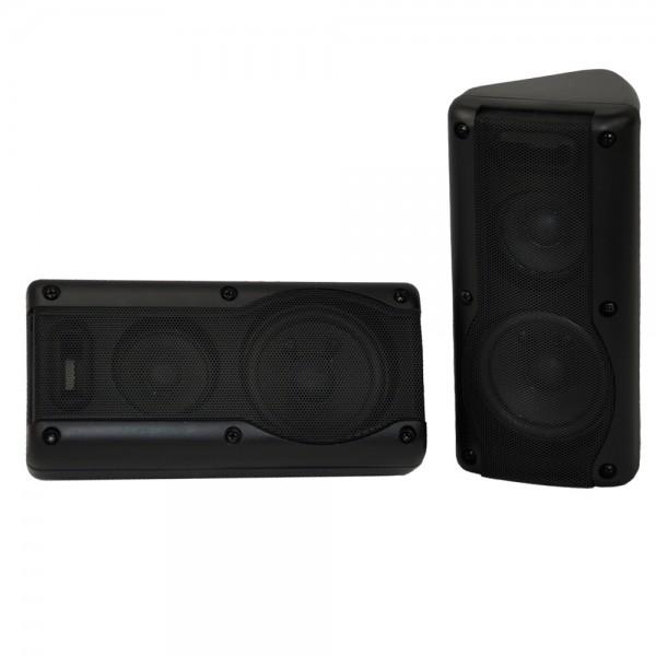 KFZ Auto Lautsprecher Boxen Aufbaulautsprecher 3-Wege 15 Watt RMS