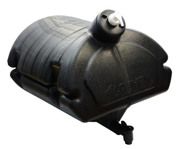 Wassertank Behälter Kunststoff 30L mit Seifenspender für LKW Bus Pritschenfahrzeuge