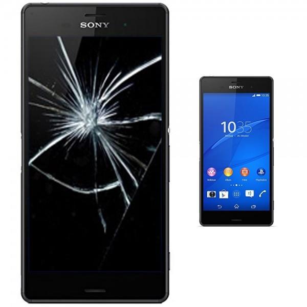 Sony Xperia Z3 Display Reparatur Scheibe Glasscheibe