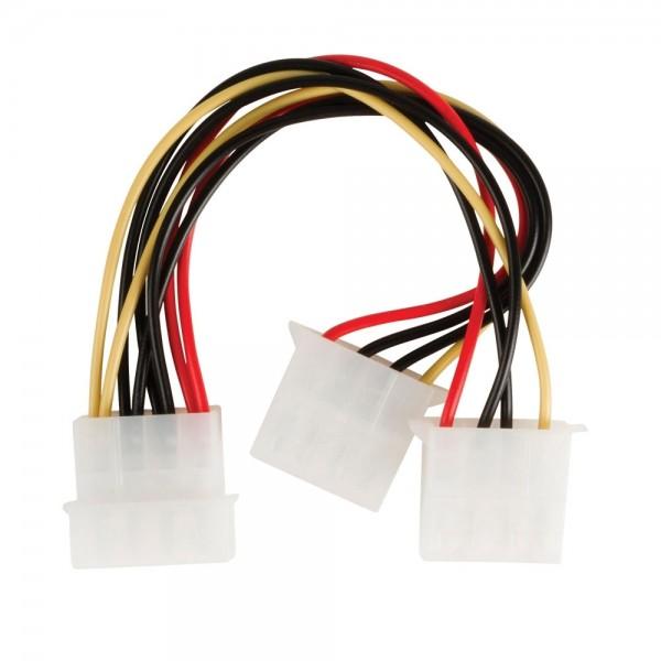 """PC Computer Internes Spannungsversorgungskabel IDE Kabel 5,25""""-2x 5,25"""""""