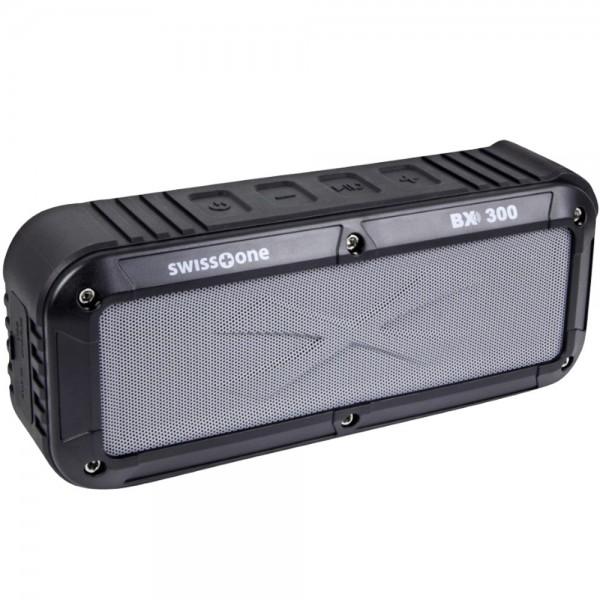 Bluetooth Lautsprecher Swisstone BX300 Freisprechfunktion für Smartphone Tablet