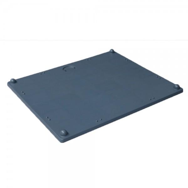 Deckel für Palettenbox Stapelbox Box Kunststoffbox Behälter 120x100cm