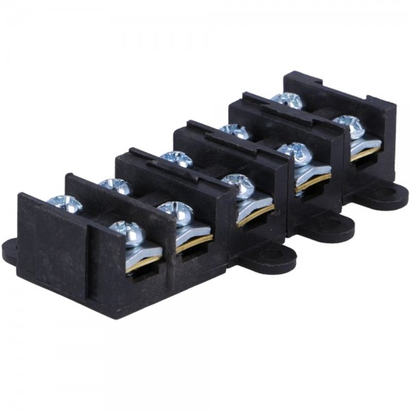 Klemmleiste Schraubklemmen für Sicherungskasten 5 Wege 10x 1,5 bis 4 mm²