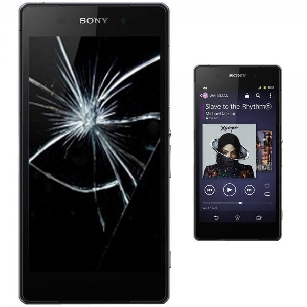 Sony Xperia Z2 Reparatur Display Scheibe Glasscheibe