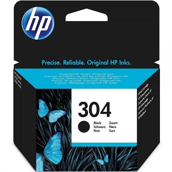 Original HP 304 N9K06AE Schwarz Tinte Patrone Druckerpatrone für HP Drucker