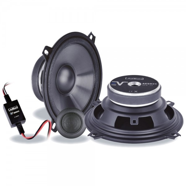 Autolautsprecher Axton AE502C 13cm Lautsprecher Componentensystem 100Watt 130mm