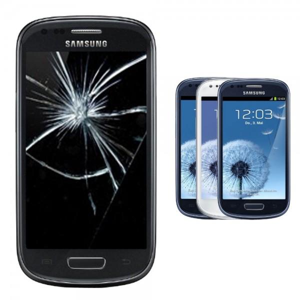 Samsung Galaxy S3 S III mini Display Reparatur Scheibe Glasscheibe