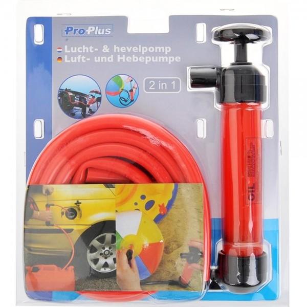 Luftpumpe Handpumpe Pumpe Saugpumpe für Flüssigkeiten Öl Benzin Diesel