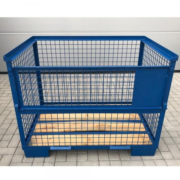 Gitterbox 1240x835x970 mm Blau stapelbar
