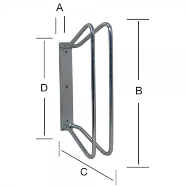 Fahrradständer Parkständer Wandhalterung Halterung Ständer für Fahrrad Bike