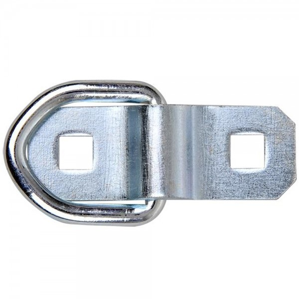2 Zurrbügel mit Ring Zurröse Ladungsicherung Zurring Zurrlasche 5mm 400Kg