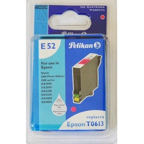 Pelikan E52 Druckerpatrone T0613 für Epson Drucker ersetzt Original Patrone