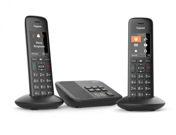 Siemens Gigaset C570 A Duo schnurloses Telefon mit Anrufbeantworter