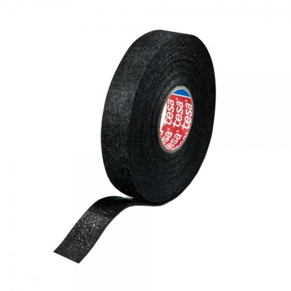 10x tesa Klebeband Gewebeband PET-Wolle Gewebeklebeband 15mm x 15m Rolle Schwarz