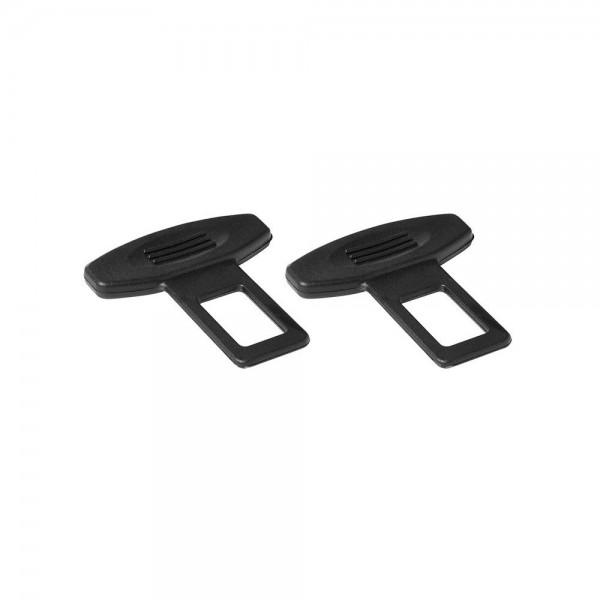 KFZ Gurtadapter Alarmstoppper Sicherheitsgurt Blind-Stecker für Gurtschloss 2x Set
