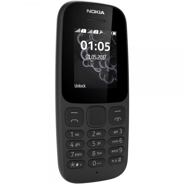 Nokia 105 Mobiltelefon Handy TA-1034 Dual-SIM 1,8 Zoll ...