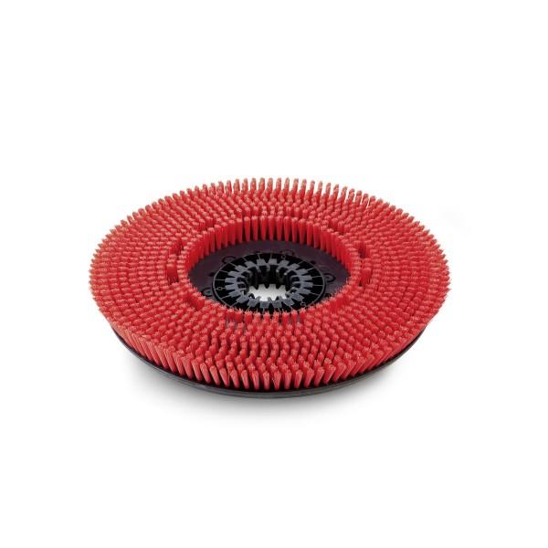 Scheibenbürste mittel rot 430mm für Kärcher Scheuersaugmaschine