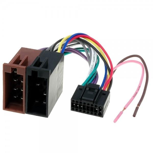 JVC Autoradio Radio Adapter Stecker DIN ISO 321 421 521