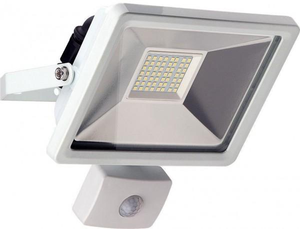 LED Außen-Flutlichtstrahler mit Bewegungsmelder 30 W