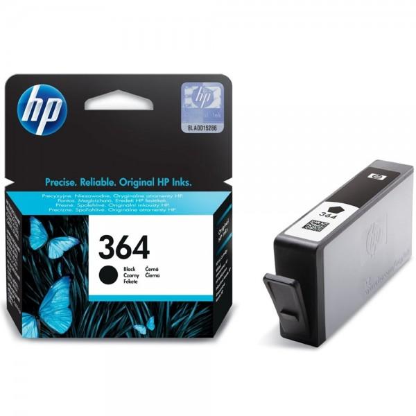 Original HP 364 CB316EE Schwarz Tinte Patrone Druckerpatrone für HP Drucker