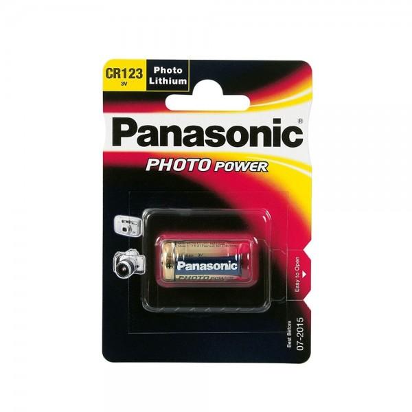 Lithium Batterie CR123 A Panasonic Photo Power 3V für Digitalkamera