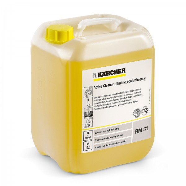 PressurePro Aktivreiniger, alkalisch RM 81 eco!efficiency 10 Liter