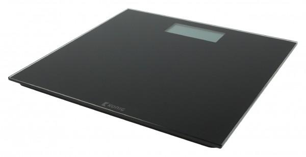 Digitale Personenwaage 180 kg Schwarz