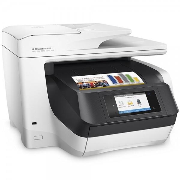 HP OfficeJet Pro 8720 Drucker Kopierer Scaner FAX Tintenstrahldrucker LAN WLAN