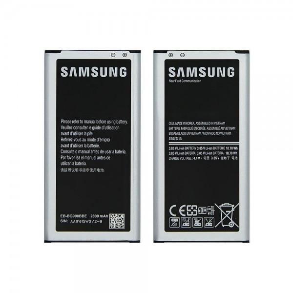 Akku für Samsung Galaxy S5 EB-BG900BBE 2800mAh Li-Ion 3,85V