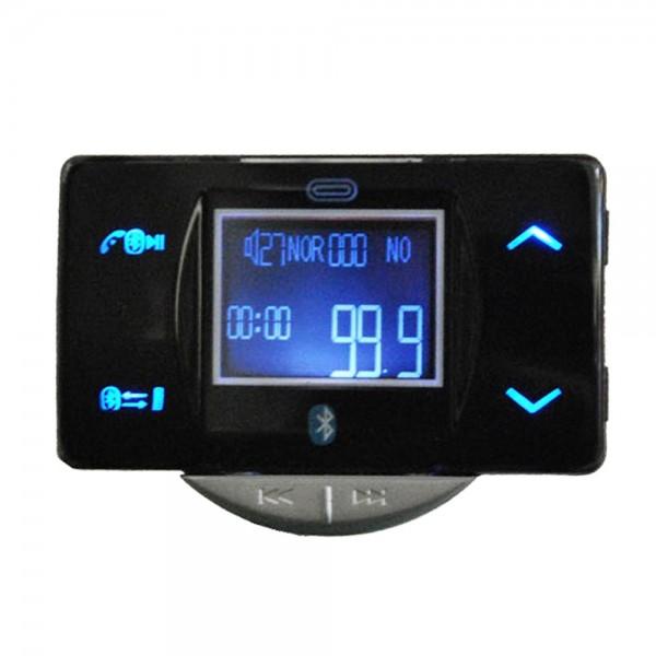 Systafex KFZ MP3 Transmitter & Bluetooth Freisprecheinrichtung Freisprechanlage