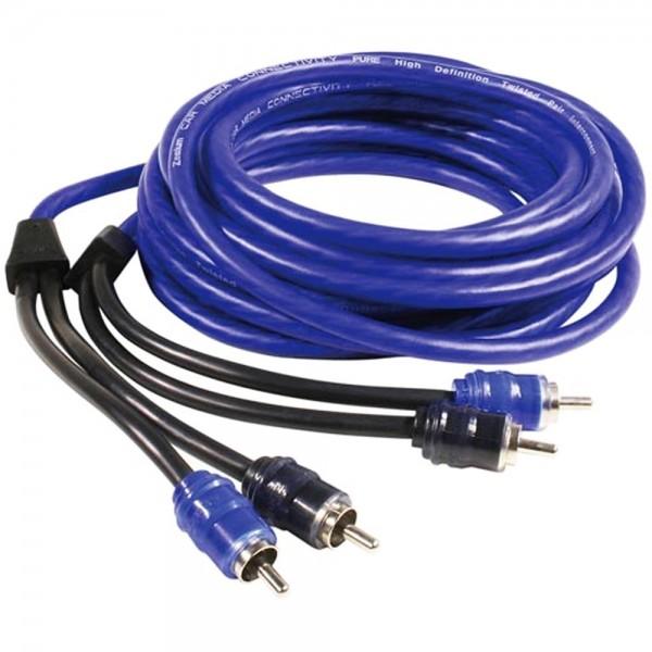 Cinchkabel Audio Kabel 5m 3.7mm 2x Cinch Stecker - 2x Cinch Stecker