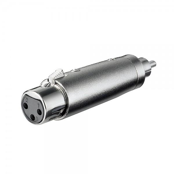 Musikkabel Lautsprecherkabel Kabel Adapter XLR Buchse - Cinch Stecker