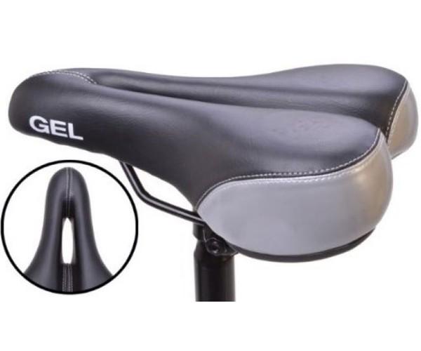 Fahrradsattel sportler Sattel Fahrradsitz mit Geleinlage