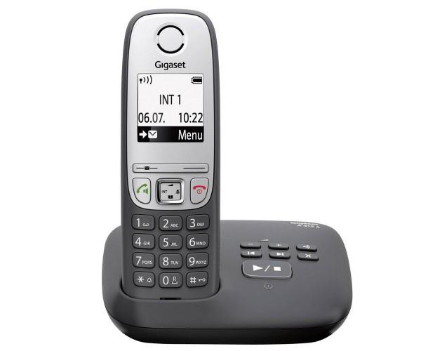 Siemens Gigaset A415 A DECT schnurloses Telefon mit Anrufbeantworter