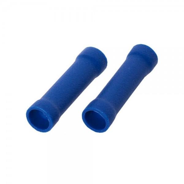10x Stoßverbinder Steckverbinder Rundstecker Hülsen M 1,5-2,5mm² Kabel