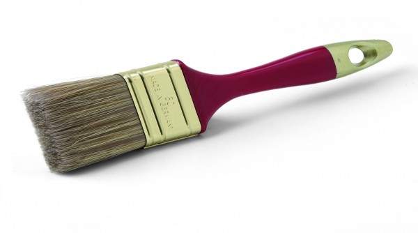 Pinsel 30 mm Flachpinsel für Lasuren und Holzschutz
