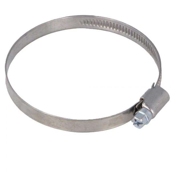 Schlauchschelle Rohrschelle Bandbreite 9 mm Ø 60-80mm DIN 3017 Schneckengewinde