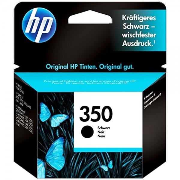 Original HP 350 CB335EE Schwarz Tinte Patrone Druckerpatrone für HP Drucker