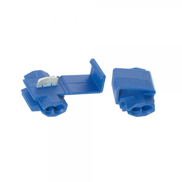 10x SGE Kabelverbinder Abzweigverbinder Klemmverbinder 1.5-2.5 mm² IDC