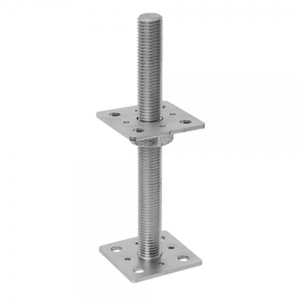 Pfostenträger 80x250mm Stützenfuß Bodenfuß Betonfuss Höhenverstellbar