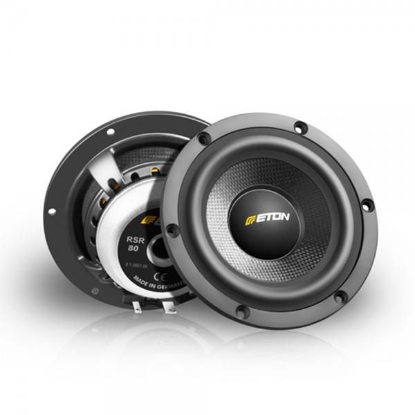 KFZ Auto Lautsprecher Mitteltöner ETON RSR80 8 cm 20 Watt