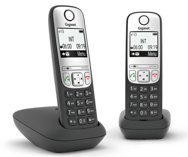 Gigaset A690 DUO schnurloses Telefon Analog Anrufschutz