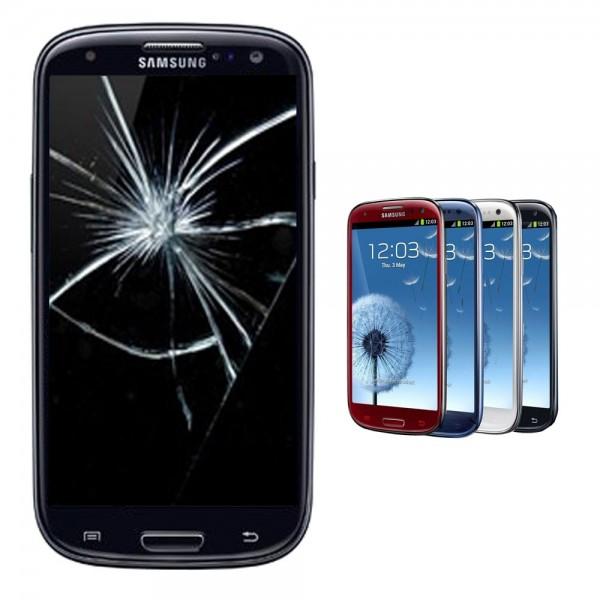 Samsung Galaxy S3 S III i9300 Display Reparatur Scheibe Glasscheibe