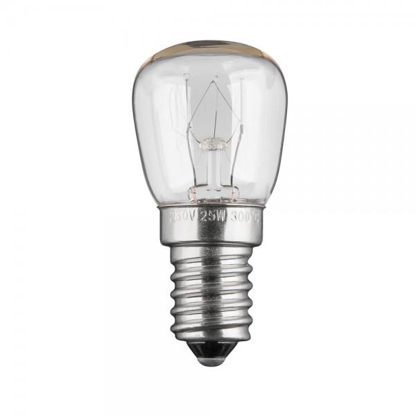 Backofenlampe Lampe Glühlampe Glühbirne E14 25Watt 230V für Backofen bis 300°C