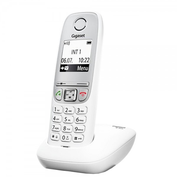 Siemens Gigaset A415 schnurloses Analog Telefon Schnurlostelefon Weiß