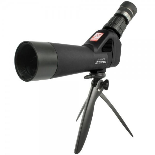 Zoom Spektiv Vergrößerung 20 - 60 x Fernrohr Fernglas Objektiv Ø 60mm