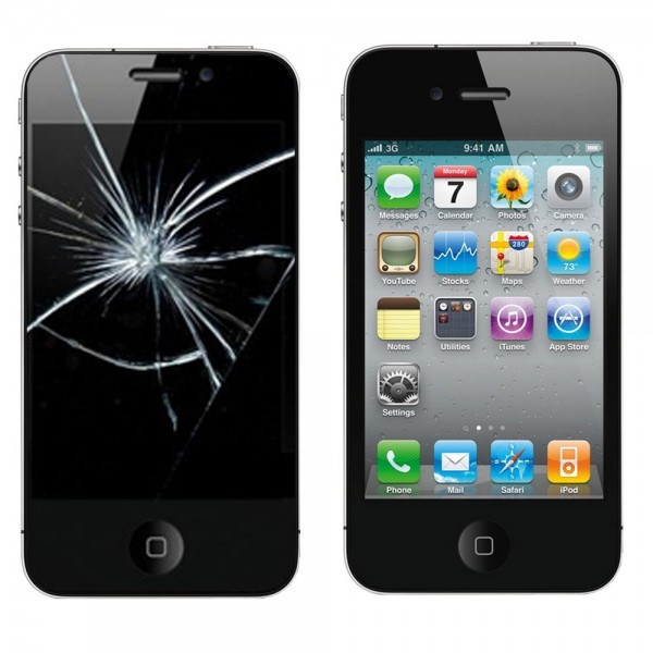 Apple iPhone 4s Display Glasscheibe Reparatur