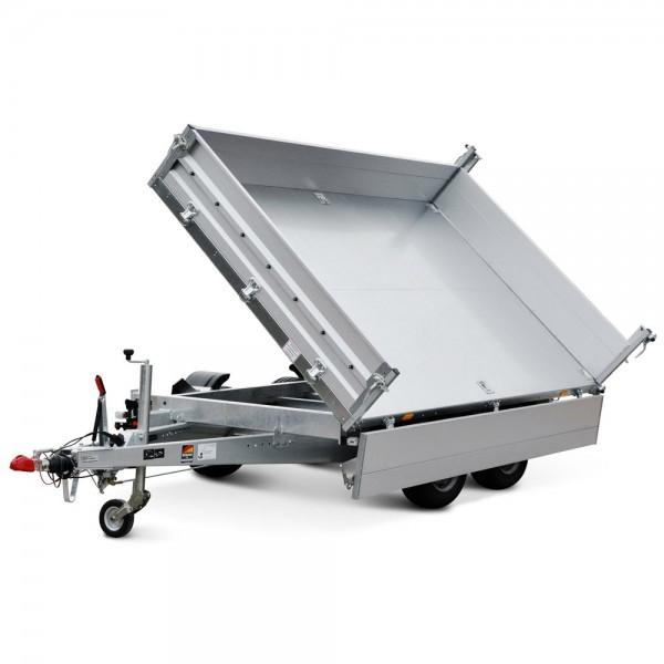 Stema Rückwertskipper & Seitenkipper PKW Kastenanhänger Hänger zweiachser Anhänger 2700kg