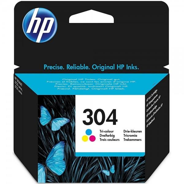 Original HP 304 N9K05AE Farbe Tinte Patrone Druckerpatrone für HP Drucker